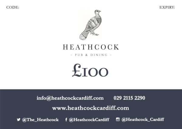 Heathcock Gift Voucher